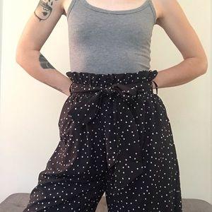 Zara Pants - ☆ NWT Japanese Brand Wide Leg Satin Pants ☆